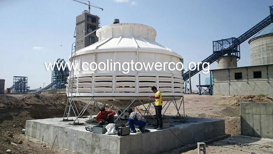 برج خنک کننده مخروطی فایبرگلاس